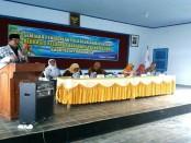 Seminar pendidikan dengan tema Pola Asuh Anak Usia Dini Berbasis Keluarga Bagi Guru TK Kabupaten Purworejo di gedung PGRI, dari tanggal 7-9/Juli 2017 - foto: Sujono/Koranjuri.com