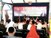 Seminar koperasi di pendopo Kabupaten Purworejo, Sabtu (15/7), dengan narasumber Prof Dr Sri Edi Swasono - foto: Sujono/Koranjuri.com