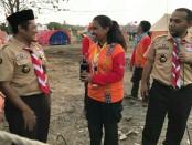 Pramuka Kwarda Nusa Tenggara Timur (NTT) mengikuti kegiatan U-Report - foto: pramuka.or.id