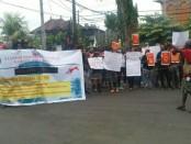AMP KTT Bali menggelar aksi damai untuk memperingati Tragedi Biak Berdarah di Bundaran Renon, Kamis, 6 Juli 2017 - foto: Istimewa