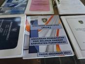 Barang bukti arsip yang ditemukan di pengepul rongsok - foto: Sujono/Koranjuri.com