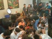 Warga asing asal Tiongkok diamankan di Bali oleh Tim Cyber Mabes Polri terkait sindikat penipuan Online - foto: Istimewa