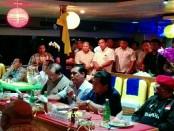 Konsolidasi partai Golongan Karya di geladak Bounty Cruise - foto: Wahyu Siswadi/Koranjuri.com