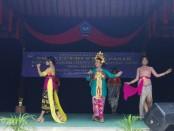 Penampilan siswa SMA Negeri 2 Denpasar saat perform di acara puncak peringatan HUT Ke-52 Resman, Jumat, 4 Agustus 2017 - foto: Wahyu Siswadi/Koranjuri.com