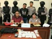 Pelaku berinisial A ditangkap dengan barang bukti sabu-sabu mencapai 1,5 kg atau 1.494,83 gram bersih - foto: Istimewa