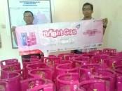 Gas non subsidi 5,5 kg, diperuntukkan khusus bagi masyarakat mampu, PNS, TNI dan POLRI - foto: Sujono/Koranjuri.com