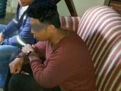 Putu A (25) pembunuh pasutri asal Jepang pada, Minggu (5/9/2017) lalu di perumahan Puri Gading Blok F1 No. 6, Jimbaran - foto: Istimewa