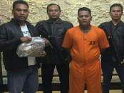 Pelaku penusuk anggota Dit. Intelkam Polda Bali ditangkap - foto: Istimewa