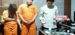 Sejoli pengedar Narkoba Tak Berkutik Disanggong Buser