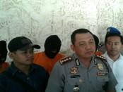 Pelaku pembunuhan terhadap seorang buruh proyek hotel di Kuta Selatan berhasil ditangkap - foto: Istimewa