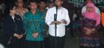 Presiden Jokowi Kunjungi Pos Pengungsian Gunung Agung