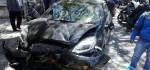 Mobil Tabrak 2 Motor di Sesetan, 3 Korban Pecah Tempurung Lutut