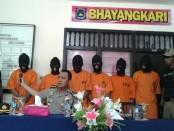 Pelaku kriminal Geng Motor di Denpasar yang digulung Polresta Denpasar - foto: Istimewa