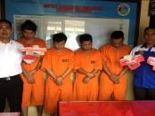 Pelaku penyalahguna narkoba yang digulung Polresta Denpasar. Dua diantaranya diamankan di Konser musik Soundrenaline di GWK - foto: Istimewa