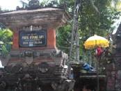 Pura Hyang Api di Desa Adat Kelusa, Kecamatan Payangan, Gianyar, Bali - foto: Wahyu Siswadi/Koranjuri.com