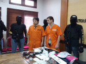 Dua pelaku masing-masing, Boris Georgiev dan Marian Bogidarof Serafinoff yang merupakan warga Bulgaria. Keduanya terlibat dalam kejahatan skimming yang diduga merupakan sindikat internasional-  foto: Istimewa