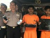 Cristoni Kaledi Bonung (20) dan Jakson Ulaiya (23) bukan merupakan 'penjahat spesialis'. Apapun bisa diembat oleh kedua pelaku ini - foto: Istimewa