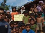 Camp Pengungsian warga Rohingya di Camp Pengungsian Balukali, Ukhia, Cox's Bazar, Bangladesh - foto: Kwarnas Gerakan Pramuka