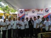Rakorwilsus Partai Perindo di Rumah Aspirasi Sudikerta, untuk mempersiapkan verifikasi faktual oleh Komisi Pemilihan Umum (KPU), Minggu, 1 Oktober 2017 - foto: Istimewa