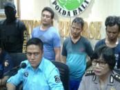Pelaku perdagangan jamur ketawa yang termasuk dalam narkotika Golongan I diringkus Direktorat Polda Bali - foto: Istimewa