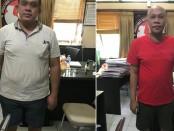 Dua pelaku yang diduga makelar kasus diringkus Tim Sapu Bersih Pungutan Liar Direktorat Reskrimum Polda Bali. Mereka masing-masing, MR (33) dan IWGB (33) alias Y - foto: Istimewa