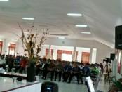 Ibadah Syukur memperingati HUT Gereja Masehi Injili Timor  (GMIT) ke-70 dan Reformasi Gereja Ke-500 Teritori Rote Ndao, Kamis (2/11/2017) - foto: Isak Doris Faot/Koranjuri.com