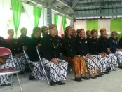 Anggota Paguyuban Penghayat Kapribaden dari seluruh Indonesia, berkumpul memperingati turunnya Wahyu Panca Gaib yang diterima Romo Semono ke 62 - foto: Sujono/Koranjuri.com