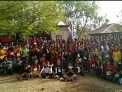 Kemah Pemuda Rote III dari tanggal 10-12 November 2017 berakh, ditandai dengan Pembuatan Proyek Sosial oleh Peserta KPR III - foto: Istimewa