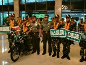 Pemberian reward kepada sejumlah prajurit Kodam IX/Udayana yang berlaga di ajang bergengsi peleton Tangkas TNI AD Periode II Tahun 2017 - foto: Istimewa