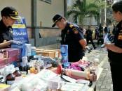 Sejumlah barang hasil tegahan periode 2016-2017 yang dimusnahkan Bea Cukai Ngurah Rai - foto: Istimewa