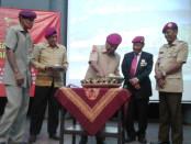 Peringatan HUT Marinir ke 72 di Monumen Jogja Kembali (Monjali) - foto: Lanjar Artama/Koranjuri.com