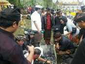 Prosesi Pengabenan Ibunda Bupati Badung, I Nyoman Giri Prasta - foto: Istimewa