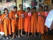 8 pelaku penyalahguna narkoba diamankan Polresta Denpasar - foto: Istimewa