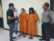 2 pelaku pencurian di Mall diamankan Polsek Kuta. Mereka melakukan pencurian dengan modus berpura-pura membeli - foto: Istimewa