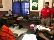 Andika Akbar (23) akhirnya ditangkap polisi setelah melakukan sex abused kepada M (14) seorang perempuan pelajar - foto: Istimewa