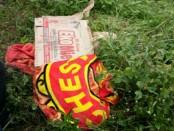 Jasad wanita tanpa identitas yang ditemukan warga di tepi pintu masuk Selatan obyek wisata Waduk Cengklik, Ngargorejo, Ngemplak, Boyolali, Jawa Tengah, Senin, 22 Januari 2018 - foto: Istimewa