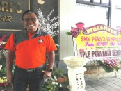 Kepala SMK PGRI 3 Denpasar I Nengah Madiadnyana - foto: Koranjuri.com