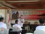 Rapat bersama antara DPD IHGMA Yogyakarta bersama sejumlah pengurus DPP IHGMA di Jayakarta hotel (24/2) - foto: Lanjar Artama/Koranjuri.com
