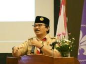 Ketua Kwartir Nasional Gerakan Pramuka, Adhyaksa Dault - foto: Kwarnas Pramuka