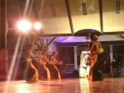 Pementasan tarian sakral Bedayan Tjokronegoro, dalam peringatan Jumenengan Tjokronegoro I, Selasa malam (27/2), di pendopo Kabupaten Purworejo - foto: Sujono/Koranjuri.com