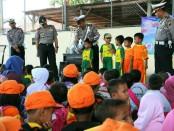 Kegiatan Polisi Sahabat Anak, Selasa (6/2), di Mapolres Kebumen - foto: Sujono/Koranjuri.com
