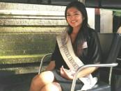 Linanda Aninditha Chisilia (23) masuk 10  dalam Pemilihan Puteri Indonesia Provinsi Bali 2018 dan menjadi finalis Nomer 2 - foto: Wahyu Siswadi/Koranjuri.com