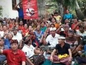 Tim Pemenangan Koster-Ace dari tingkat provinsi hingga desa terus bergerilya ke desa-desa hingga Banjar di seluruh Bali - foto: Istimewa