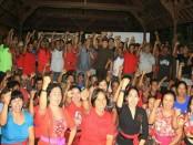Deklarasi pasangan Koster-Ace di desa Pangyangan, Kecamatan Pekutatan, Kabupaten Jembrana - foto: Istimewa