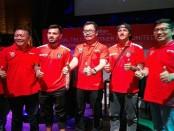 Smartfren secara resmi menjadi operator seluler pertama di Indonesia yang menjadi sponsor klub sepak bola Bali United untuk kompetisi 2018 - foto: Koranjuri.com