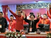 Presiden Joko Widodo menghadiri pembukaan Rakernas PDIP di Hotel Inna Grand Bali Beach, Sanur, Bali, Jumat, 23 Februari 2018 - foto: Istimewa