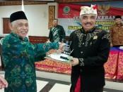Ketua FKUB Bali, Ida Penglingsir Agung Putra Sekehat (kanan) - foto: Koranjuri.com