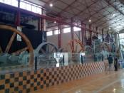 Keterangan Foto: Mesin giling ex pg colomadu di De Tjolomadoe yang di repainting  . / Foto: koranjuri.com