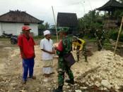 Pra TMMD ke-101 di Banjar Pundung, Desa Pangsan, Kecamatan Petang, Badung - foto: Istimewa