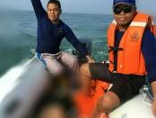 Tim SAR Gabungan menemukan jasad David Wahyudi yang tenggelam di Pantai Lima, Badung pada Minggu (4/3/2018) - foto: Istimewa